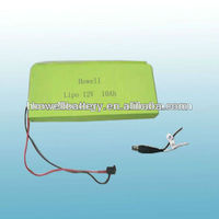 battery 12v 2.8ah/rechargeable lipo battery 12v 2.8Ah