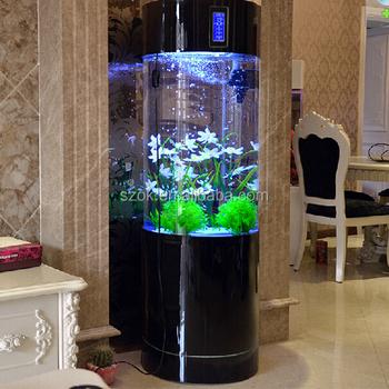 Floor type acrylic aquarium fish tank low price buy for Floor fish tank