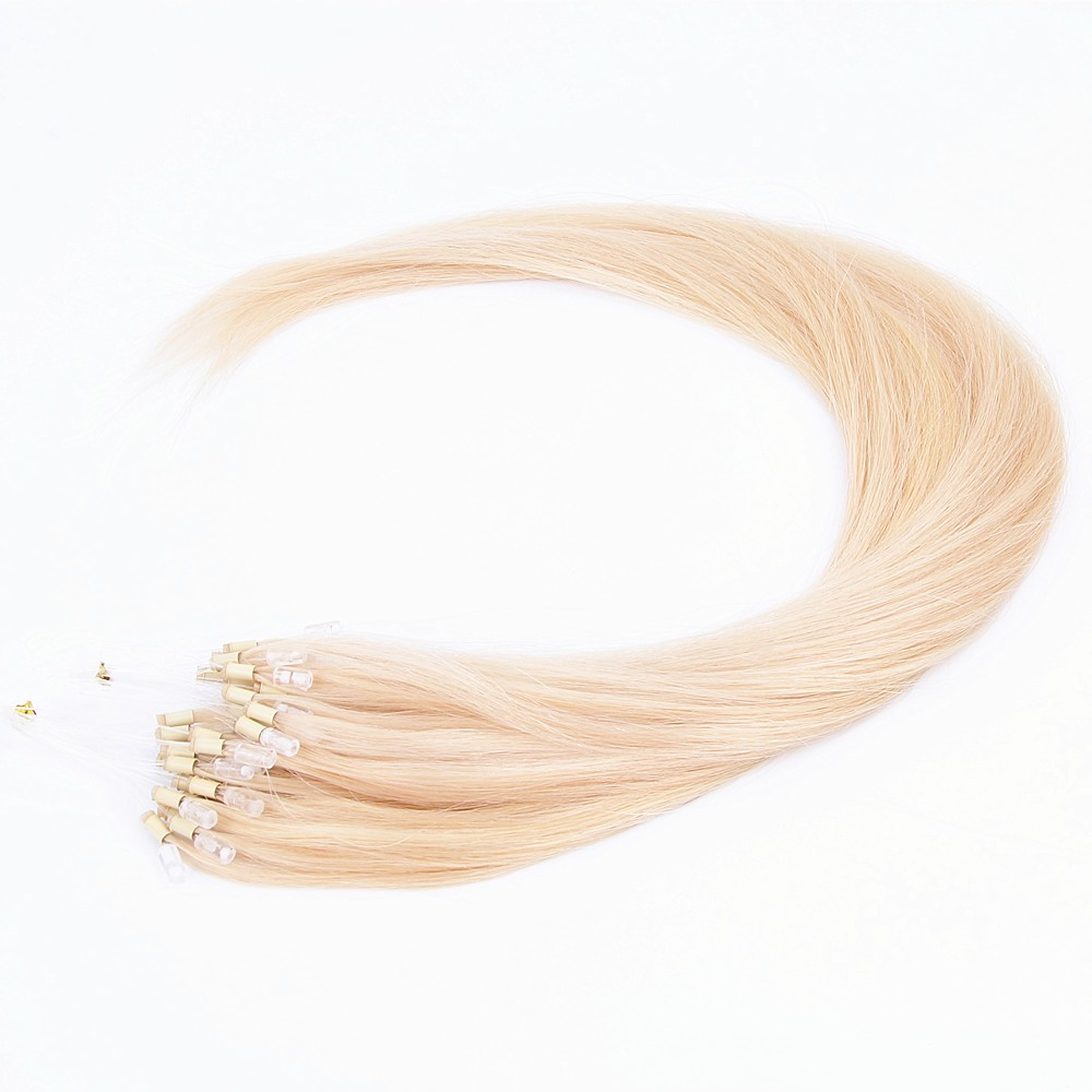 Indian Brown Remy Virgin human Loop Hair/Ring-x Hair