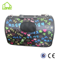 Wholesale portable fashion outdoor travel pet carrier bag dog bag dog carrier