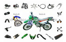best selling ZS200GY motorbike parts for Chinese motorcycle