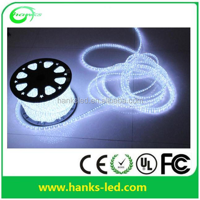 LED rope light( 2wires) led duralight CE, GS, RoHS LED decorative light Christmas light
