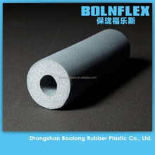 NBR / PVC Rubber Foam Pipe Insulation Material Heat Insulation