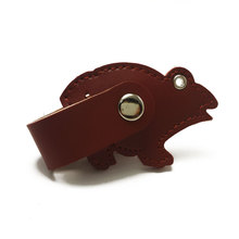 leather animal shape micro usb otg flash drive