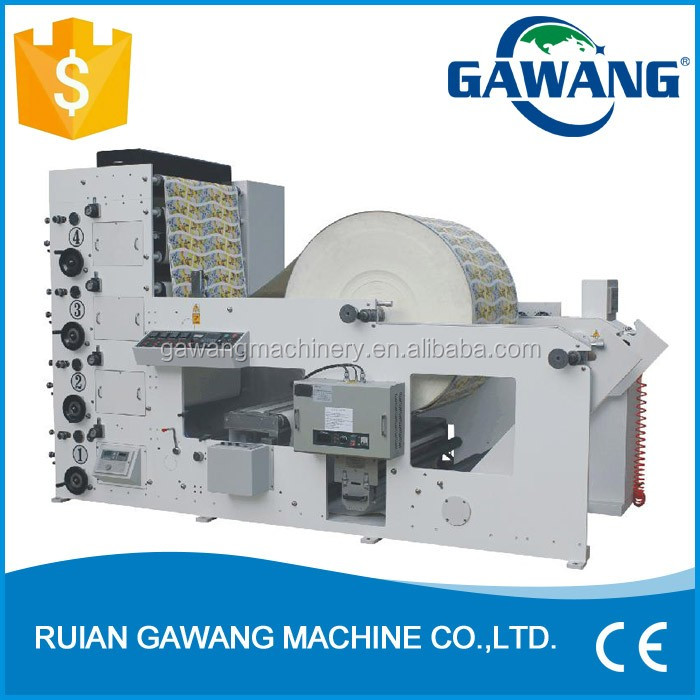 Flexo Printing Machine for Paper Cup Bopp Film Printing Machine