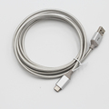Power extension charging data transfer USB2.0 type C USB cable braided