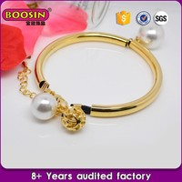 Guangdong jewelry supplier hallmark gold bangles