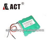 promotional rechargeable battery 2700mAh 4.8volt nimh battery pack