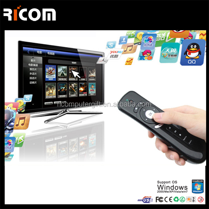air mouse remote <strong>control</strong>,gyroscope air mouse,rf air mouse remote <strong>control</strong> for smart tv samsung--T1-Shenzhen Ricom