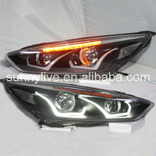 For FORD 2015 New Focus For focus 4 LED Head Lamps LD