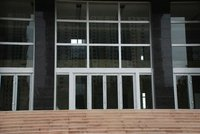 Aluminum frame glass door and window for buildings A-65