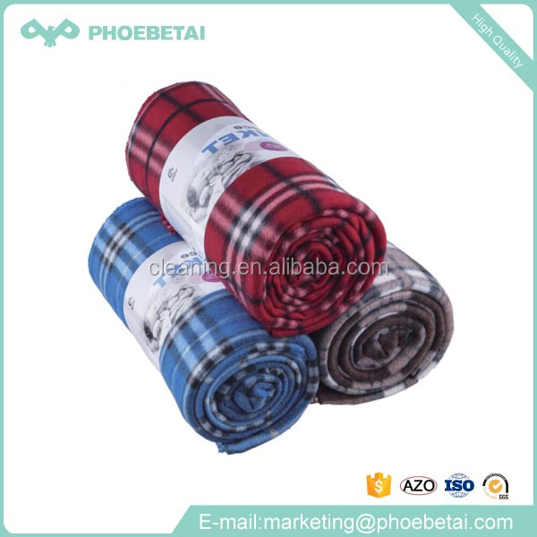 Best selling China wholesale super soft printed fleece polar blanket with high quality