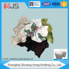 Dark t-shirt yarn waste recycle cotton hosiery rag