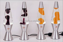 "13"" novelty custom lamp cheap decorative magma lava lamp"