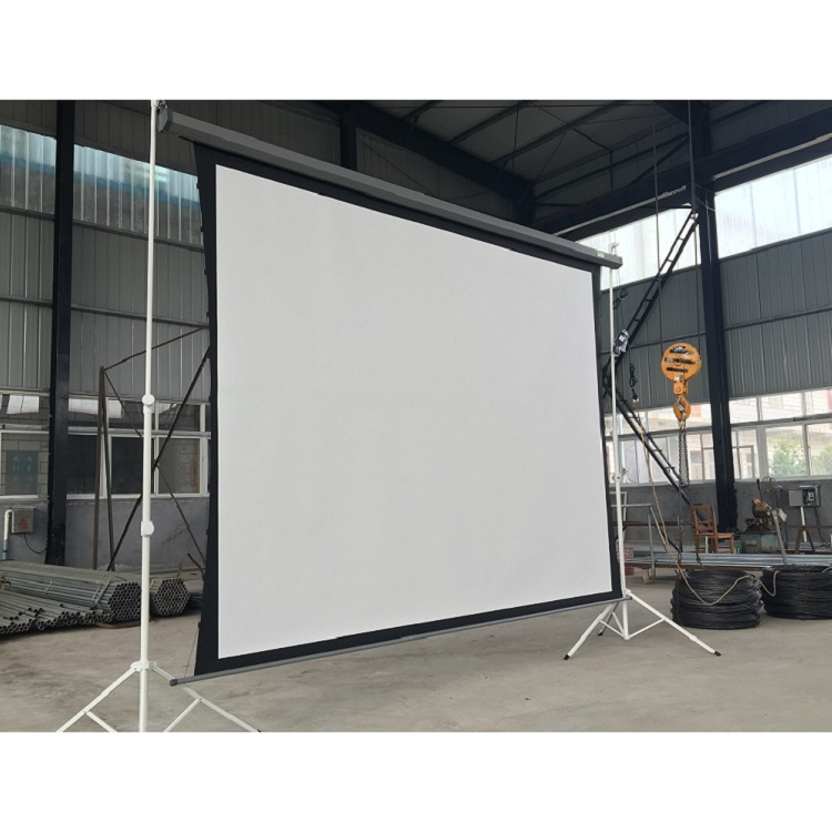 "16:9 150"" Tab tension electric screen with RF remote control"