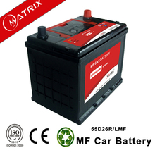 50ah 55d26 n50 hybrid smf automotive power volt car batteries for wholesale