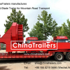 Special Trailer Wind Blade Transporter Manufactured