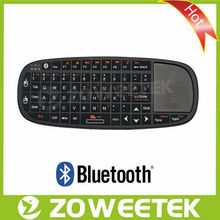 Multimedia Bluetooth French Wireless Keyboard for iPhone5, Samsung note