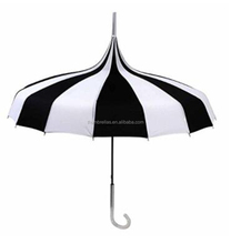 2017 Chinese imports hot sale China manufacturer new innovative pagoda straight umbrella with good price