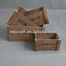 cheap wholesale used wooden wine crates