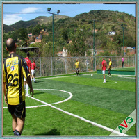 Professional Diamond Shape Durable Soccer Field Artificial Turf Prices Excellent Wear Resistance