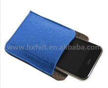 Practical Mobile Phone Bag Made Of Felt,Quality and cheap