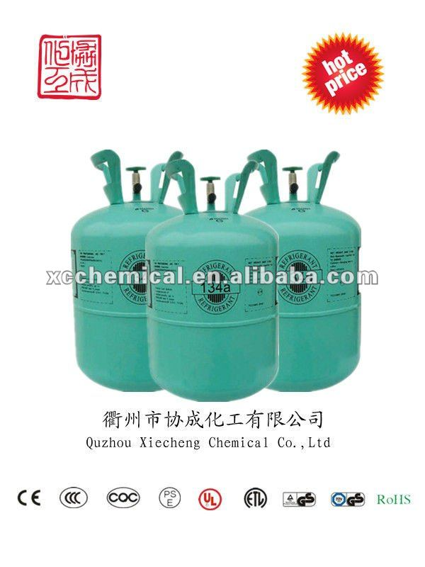 [Direct manufacturers] Disposable cylinder 30lb Auto refrigerant 134a gas 30lb