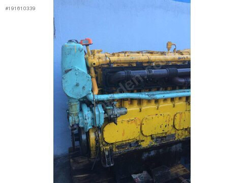 DEUTZ MWM TBD604L6 450 HP MARINE ENGINE FOR SALE
