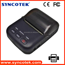 wireless connection 58mm bluetooth mobile ticket printer for any event