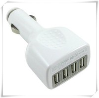 4 USB Ports 5v 2.1A Car Charger for Samsung,Cell Phone Car Charge for iphone