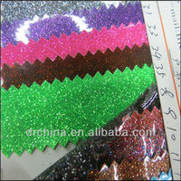 Hot Seling Shiny pvc fabric used for the shoes Material