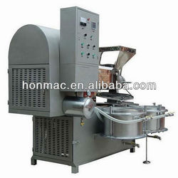 80-160kg/h full automatic screw rapeseed oil extruder