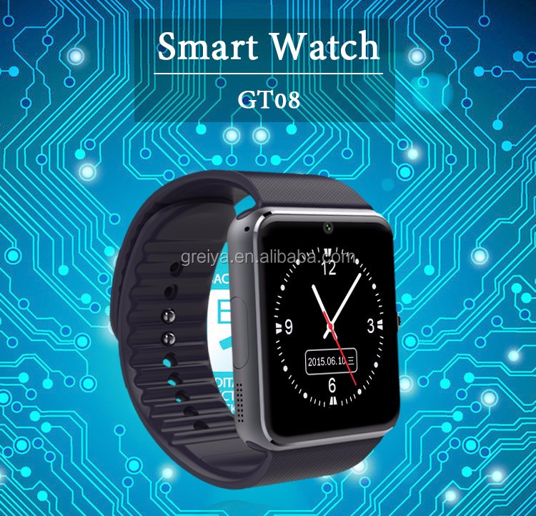 Top quality Online OEM Manufacturing top quality bluetooth wifi smart watch gt08