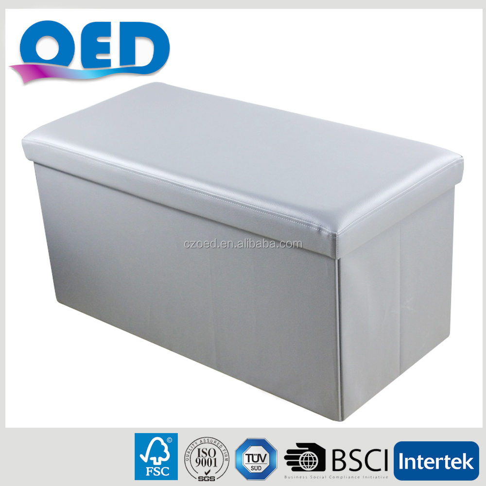 OED Artificial Leather Big Size Storage Ottoman Bench 76*38*38 cm F517