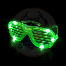Creative Glow In The Dark Plastic Glowing Eye Party LED Glasses Manufacturer China 2018 Kids Birthday Party LED Flashing Glasses