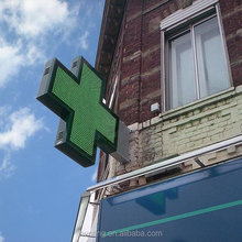 Full color outdoor cross P6 P8 P10 electronic led sign panel pharmacy products