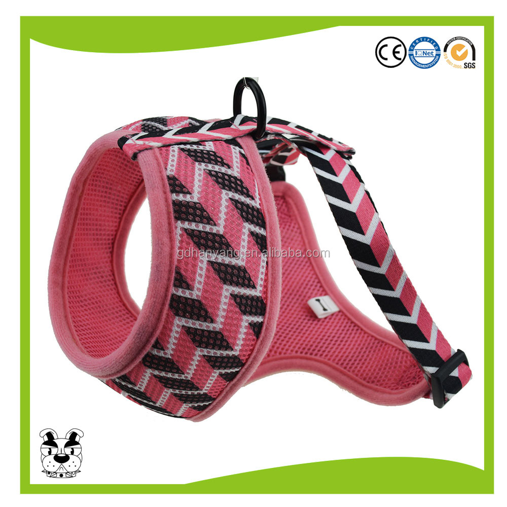 Top Sales Soft Mesh Fabric Pet Dog Harness