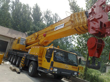 Used 200 ton TADANO hydraulic mobile crane with Japanese origin
