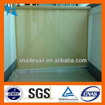 HDPE breathable fabric Sand Window Roll Up Shade