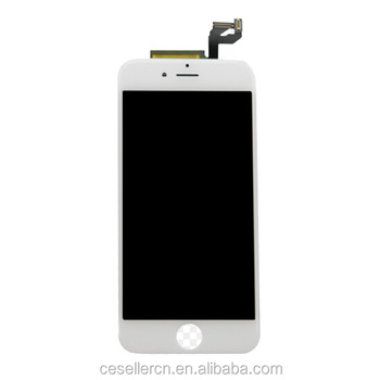 Original for iphone 6s Lcd Screen and Digitizer Display White Replacement Part