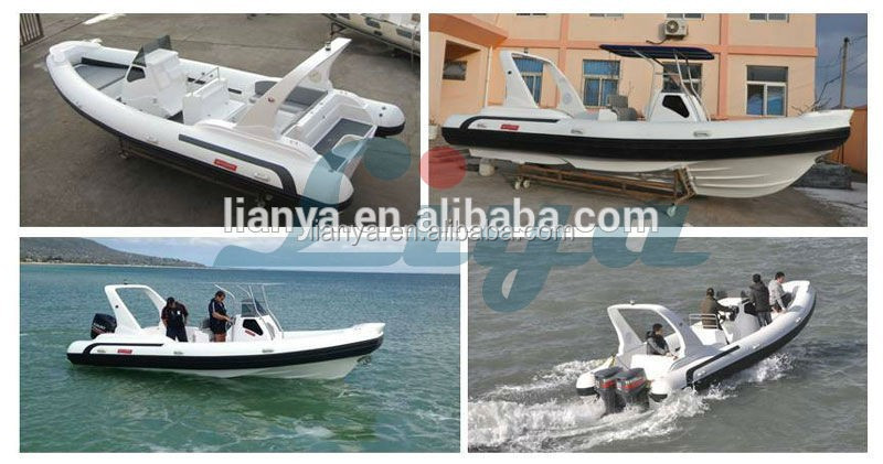 Liya 7.5m luxury motor yacht ski boat power boat military boats for sale