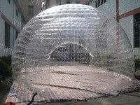 outdoor inflatable bubble camping tent / inflatable clear bubble tent