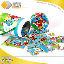 Jigsaw puzzle free games/magnetic fridge puzzle/custom jigsaw puzzles