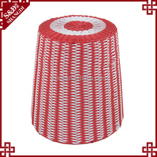 S&D Home Furniture Houseware artificial rattan colorful plastic stool