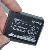 NP-W126 for Fujifilm FinePix HS30 X-A1 X-Pro1 Video Camera Battery