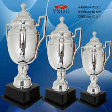 Silver Plated Metal Champion Trophy Large Sports Trophy Cup Metal