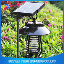 Outdoor environmentally UV LED Light safe Solar Mosquito Killer Lamp