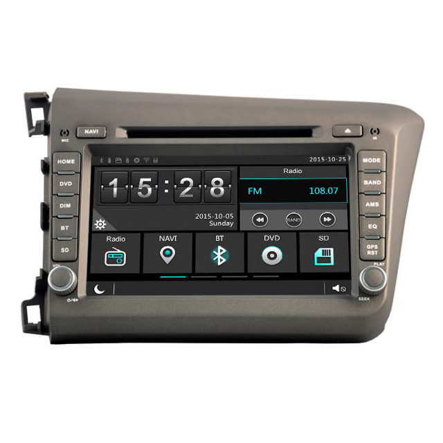 WITSON WINDOWS CAR MULTIMEDIA DVD PLAYER FOR <strong>HONDA</strong> <strong>CIVIC</strong> 2012 FOR LEFT HAND DRIVER