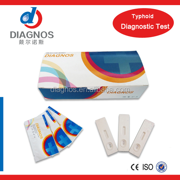 ISO 13485 typhoid igg/igm blood grouping rapid test typhoid test kit
