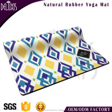2017 newest design 100% natural rubber yoga mat manufacture picture printed